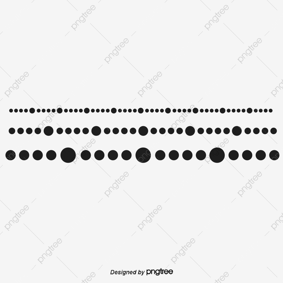 Black Dotted Dotted Dotted Line, Line Clipart, Dotted Line