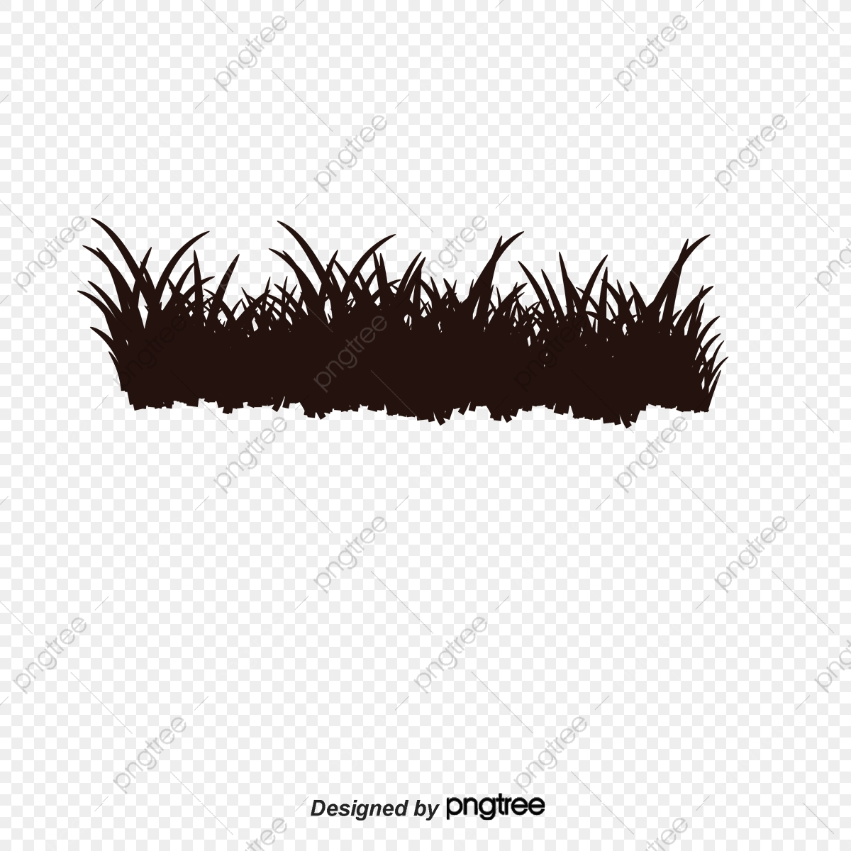 Black Grass Clip Art