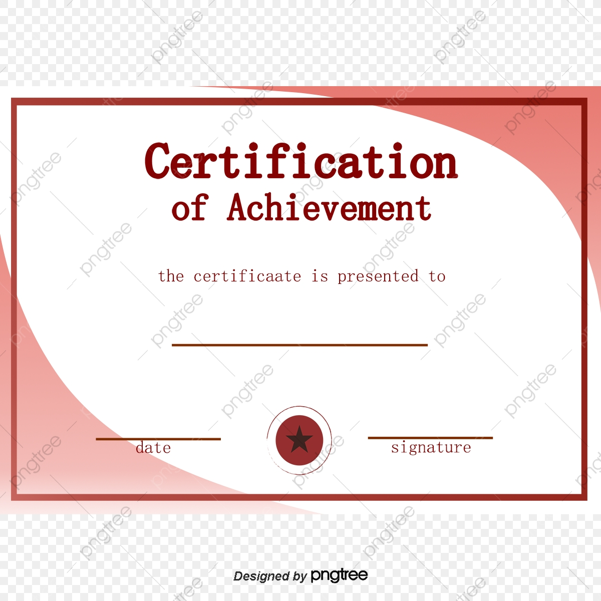 Blue Training Certificate Certificate Template Training
