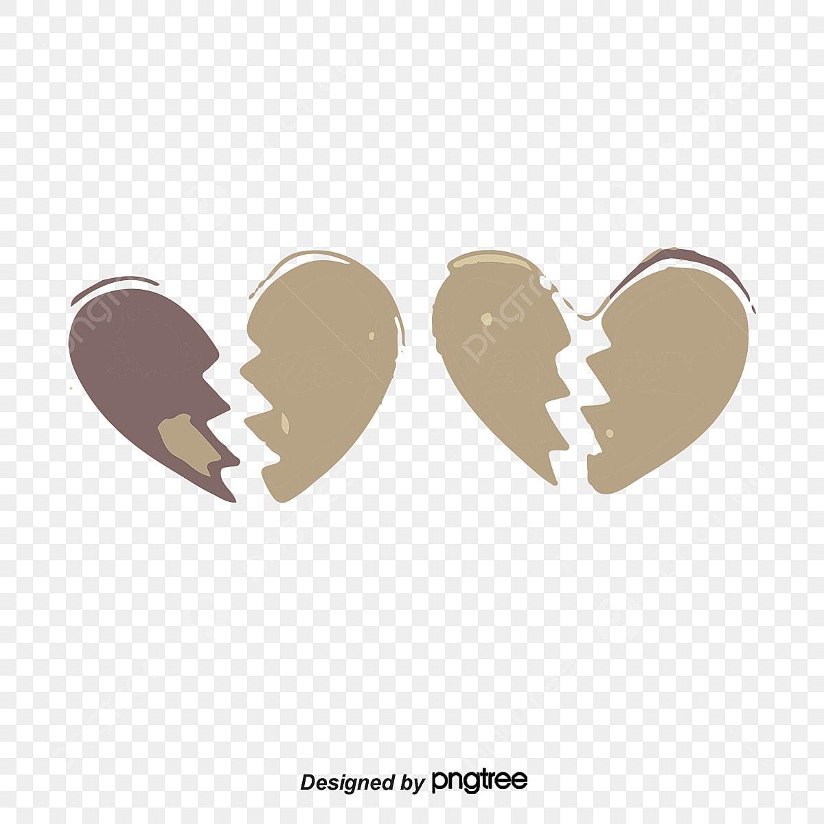 Gambar Patah Hati Heartbreak Sedih Kecewa Png Dan Vektor Untuk Muat Turun Percuma