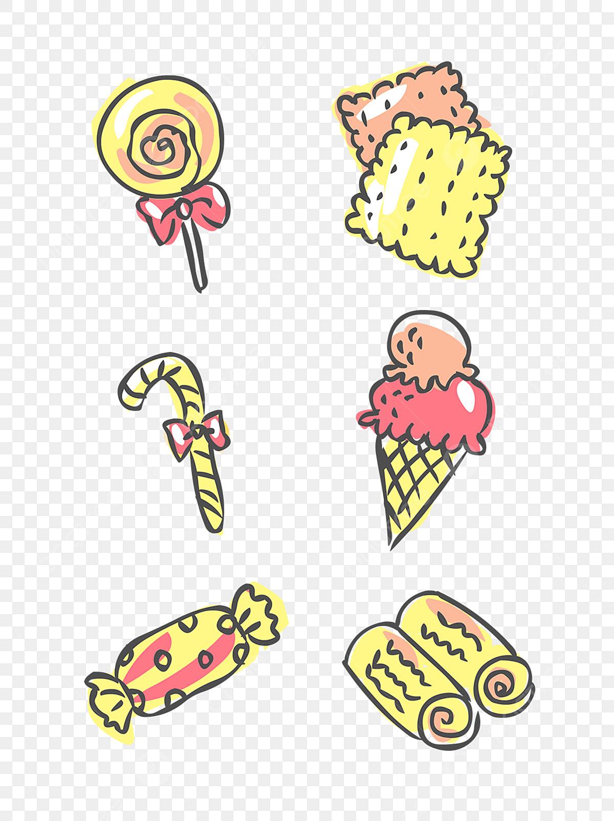 Dessin De Bonbons Dessin Couleur Des Bonbons Fichier Png