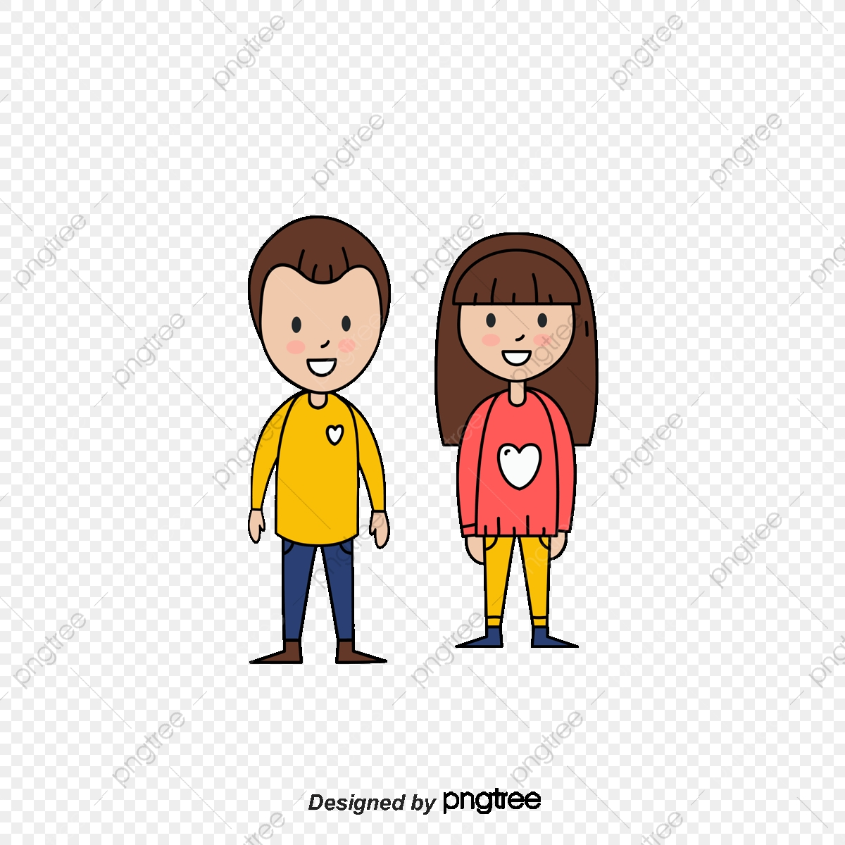 Cartoon Characters Mom And Dad Mom And Dad Cartoon Character Png