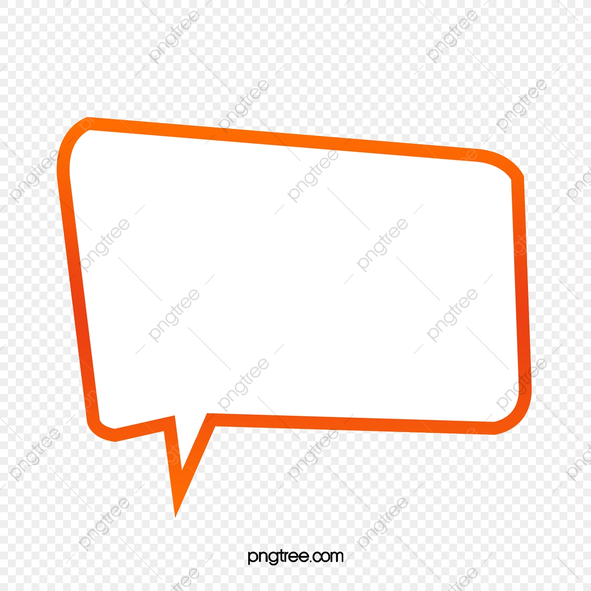 Cartoon Chat Box Material, Cartoon Clipart, Gradient, Chat Box PNG
