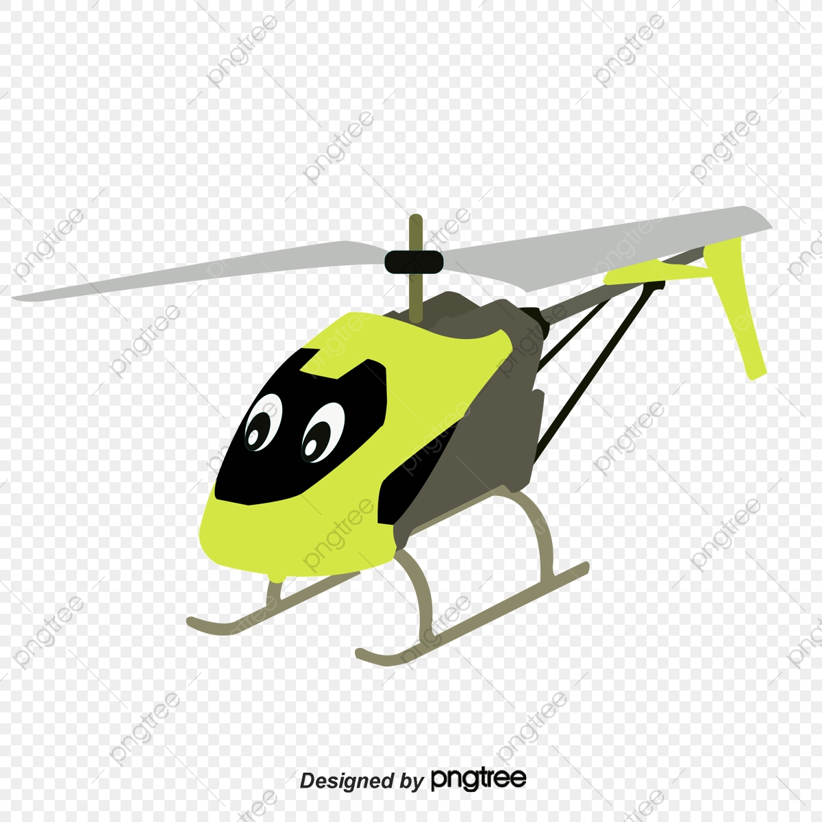 Kartun Helikopter Kartun Helikopter Realistik Fail PNG