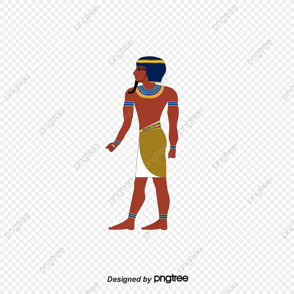 Cartoon Painted Ancient Egyptian Gods Cartoon Gods Painted God Vector Ancient Egypt Png Transparent Clipart Image And Psd File For Free Download