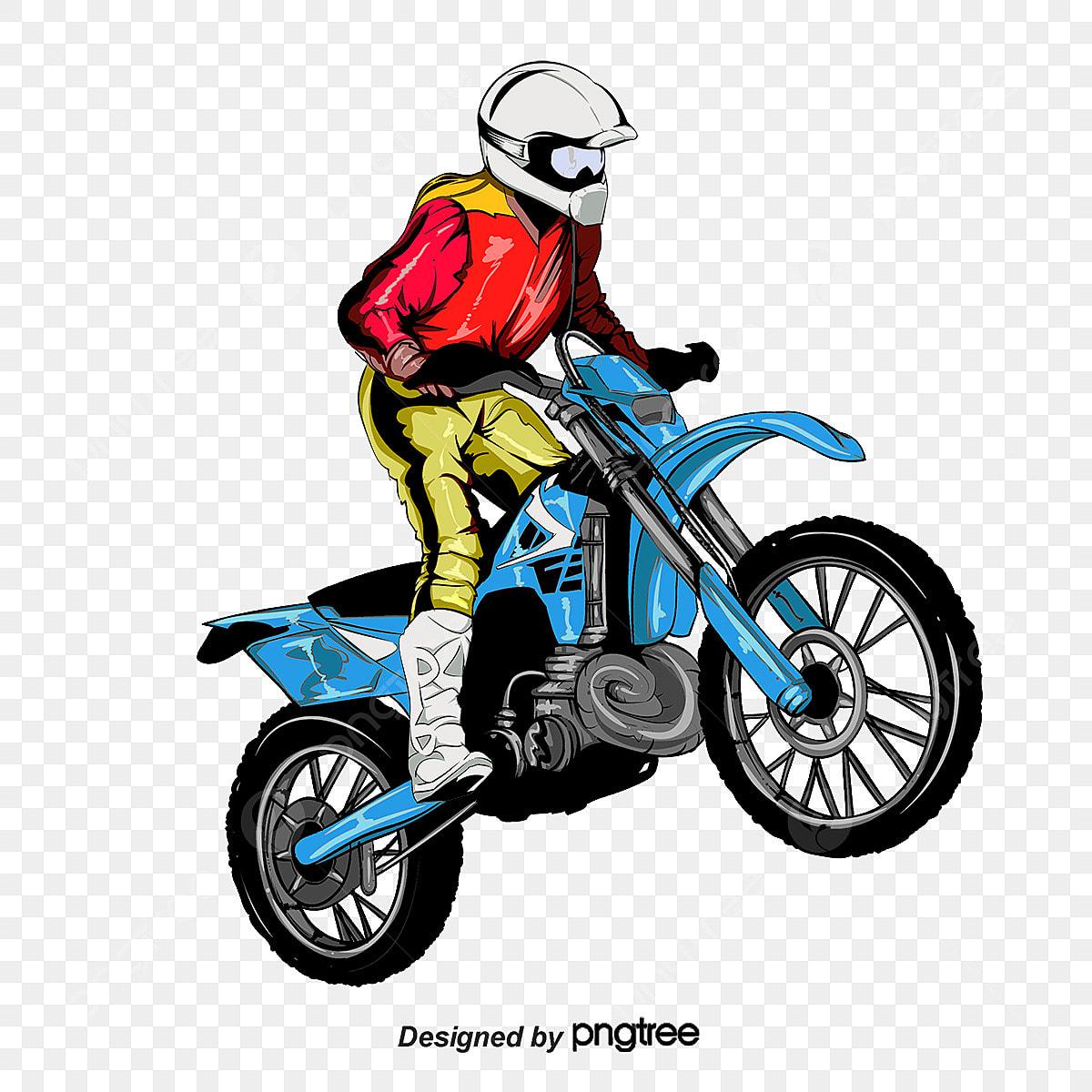 Corrida De Moto Desenhos Pintados A Mao Desenho De Meios De
