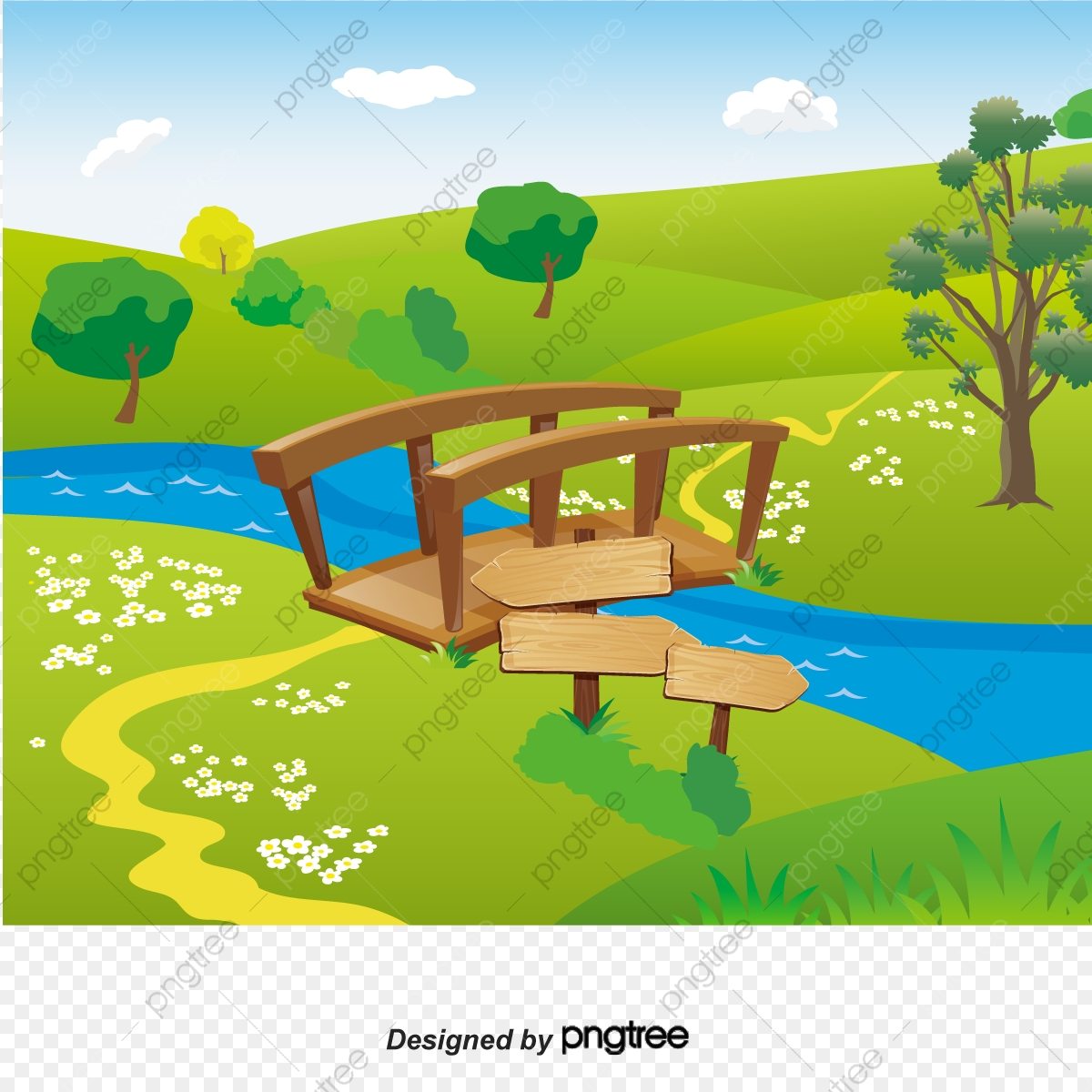 cartoon picnic pilgrimage background river bridge cartoon vector river vector bridge vector png and vector with transparent background for free download https pngtree com freepng cartoon picnic pilgrimage background river bridge 3243197 html