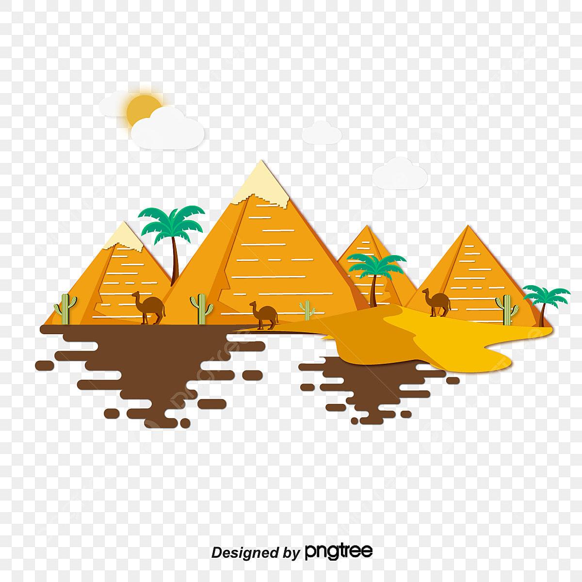 dessin vectoriel en pyramide le dessin de la pyramide b u00e2timents anciens  u00c9gypte png et vecteur