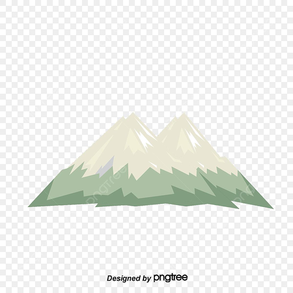 كرتون الجبال المغطاة بالثلوج و الرعيه كرتون جبل الثلج قطيع Png وملف Psd للتحميل مجانا