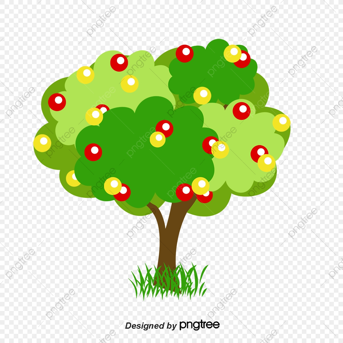 le dessin de l arbre dessin de l arbre fruits image png