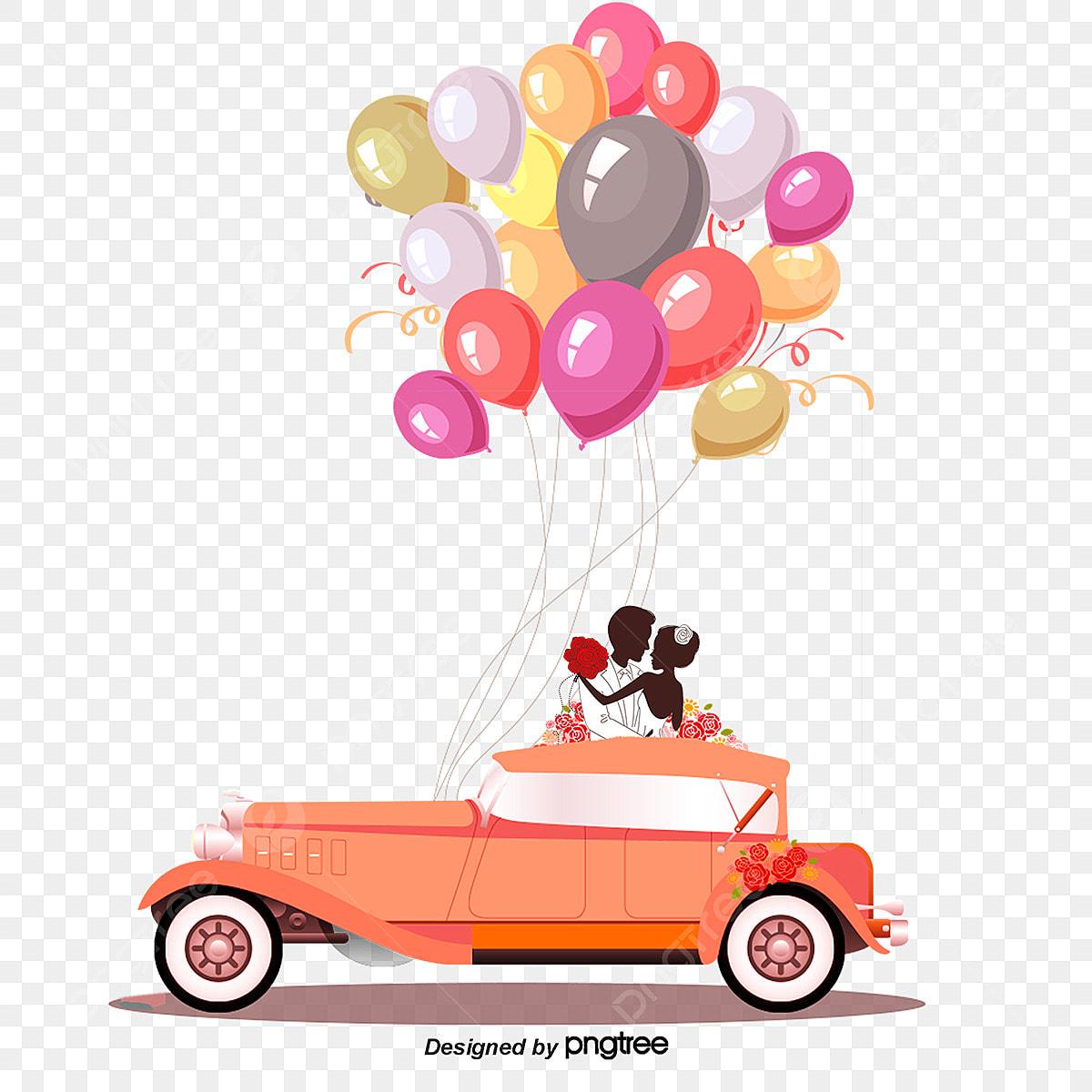 dessin de voiture mariage mariage dessin fichier png et psd pour le t u00e9l u00e9chargement libre