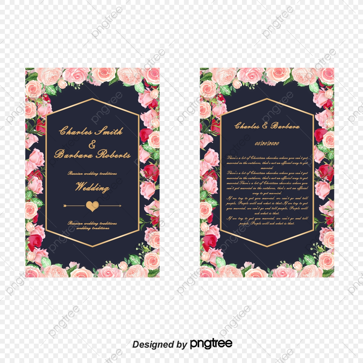 Cartoon Wedding Invitation Design Cartoon Vector Wedding