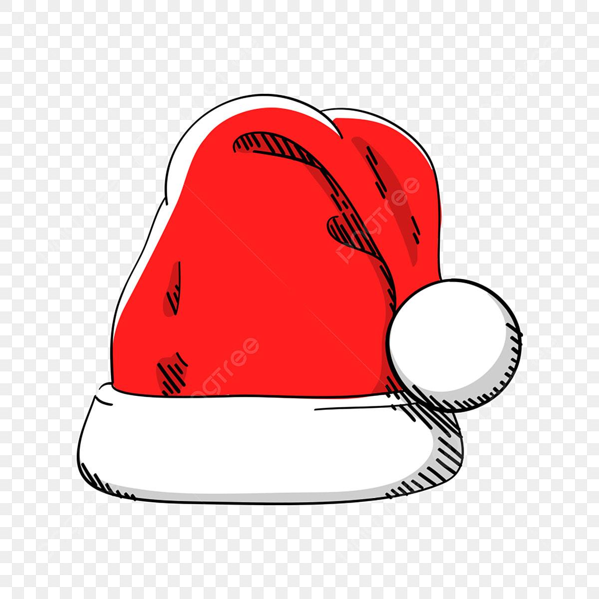 Cartoon With Christmas Hat, Cartoon Clipart, Pig, Christmas