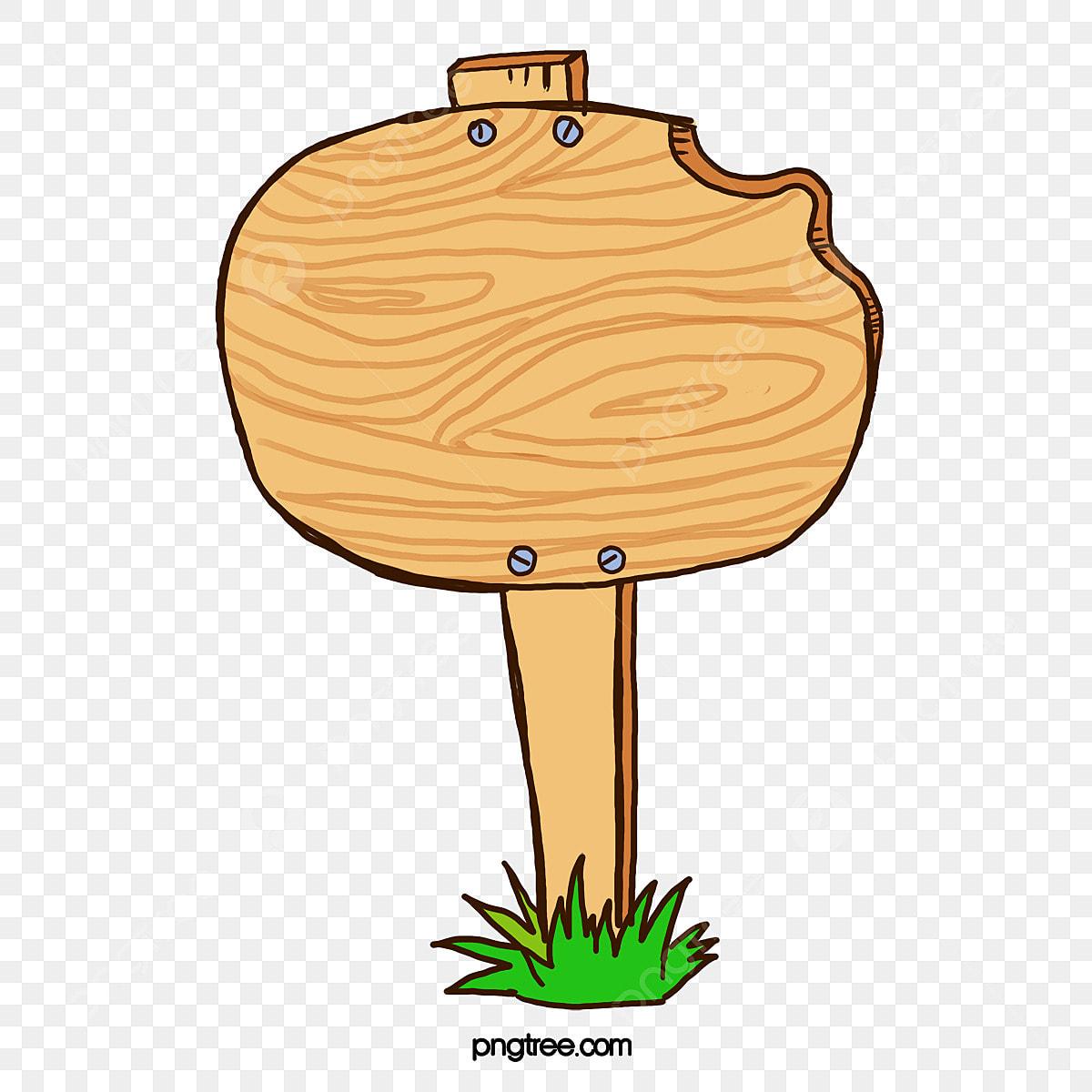 Desenhos De Placas De Madeira Rua A Madeira Cartoon Arquivo Png
