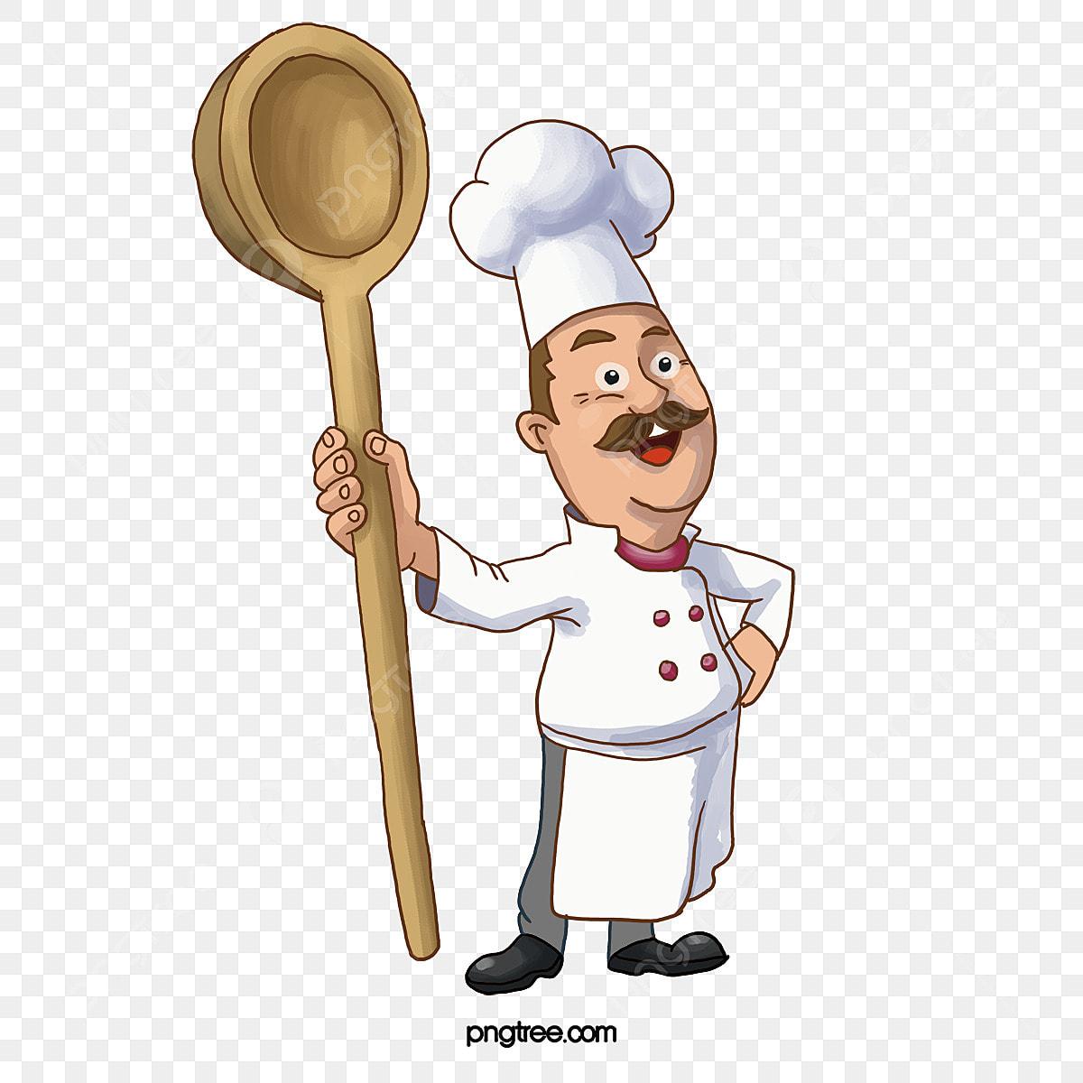 Chef Cuisinier Dessin Cuisinier Chef Fichier Png Et Psd