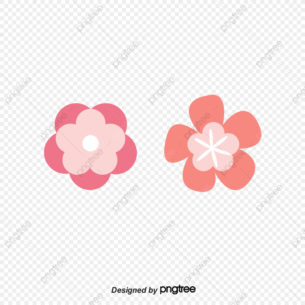 Material Das Flores De Cerejeira Vector De Petalas Flor De