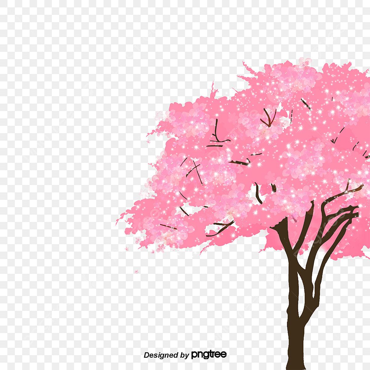 無料ダウンロードのための桜の木の木 ピンク ロマンチック 桜png画像素材