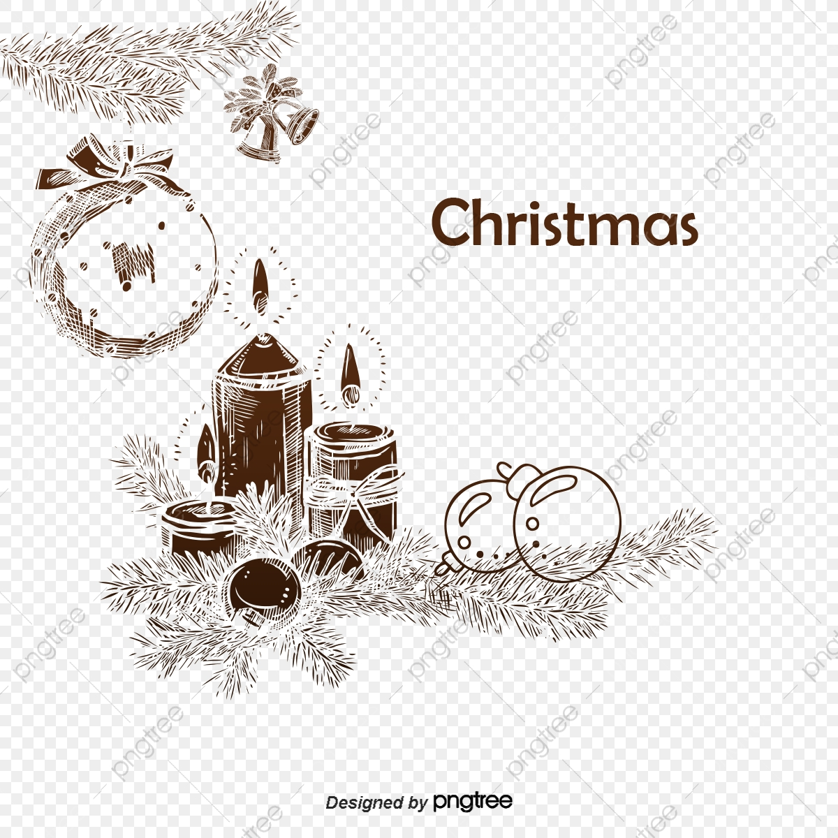 Unduh 104 Background Natal Hitam Putih HD Terbaik