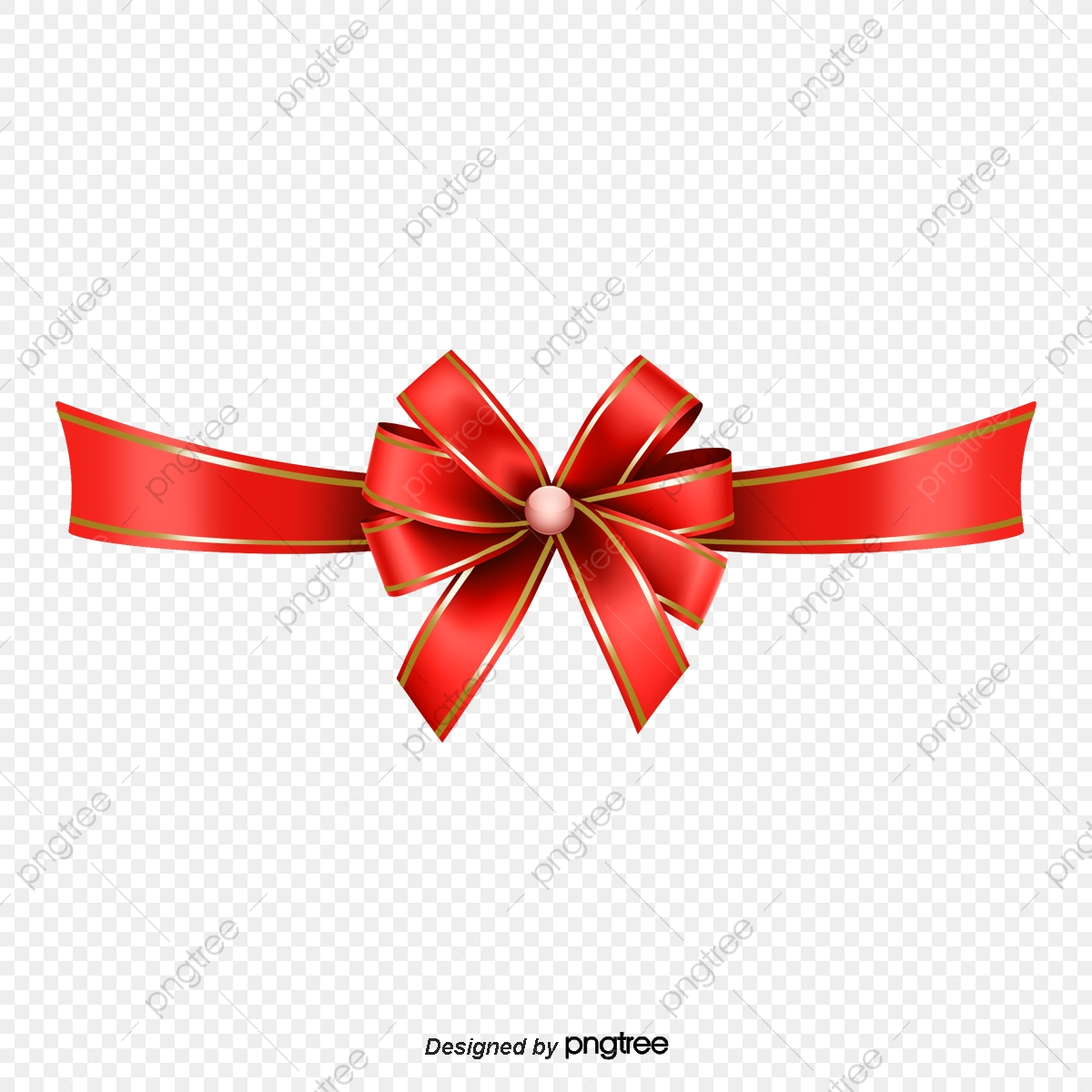 Christmas Ribbon Bow Christmas Elements Png And Vector