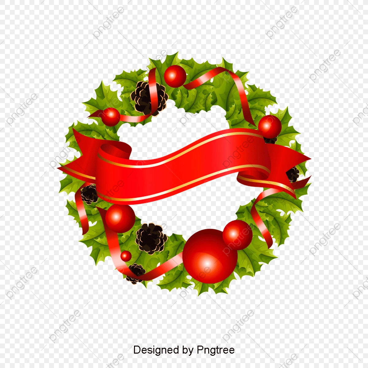 Christmas Reef Png.Christmas Wreath Wreath Ring Png Transparent Clipart Image