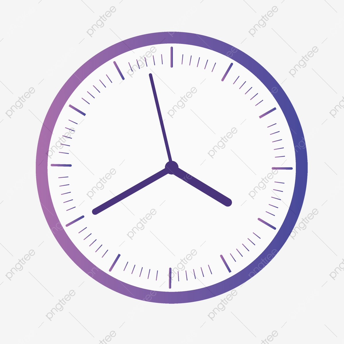 Circular Simple Digital Clock, Clock Clipart, Digital, Clock PNG