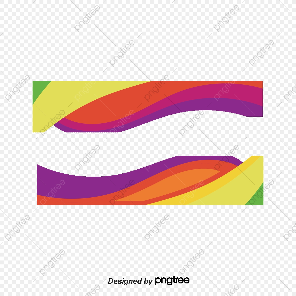 Color Wave Border Vector Png Border Color Png Transparent Clipart Image And Psd File For Free Download