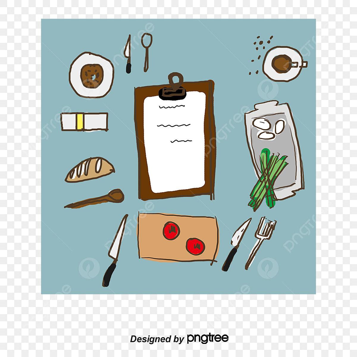 Livre De Cuisine Recette Dessin De Cuisson Png Et Vecteur