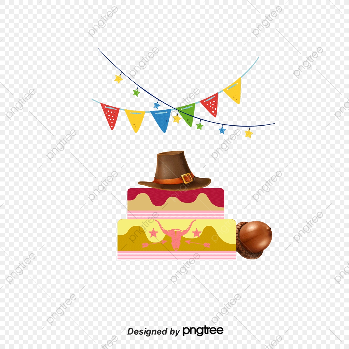 Stupendous Cowboy Birthday Cake Birthday Clipart Cake Clipart Vector Personalised Birthday Cards Cominlily Jamesorg