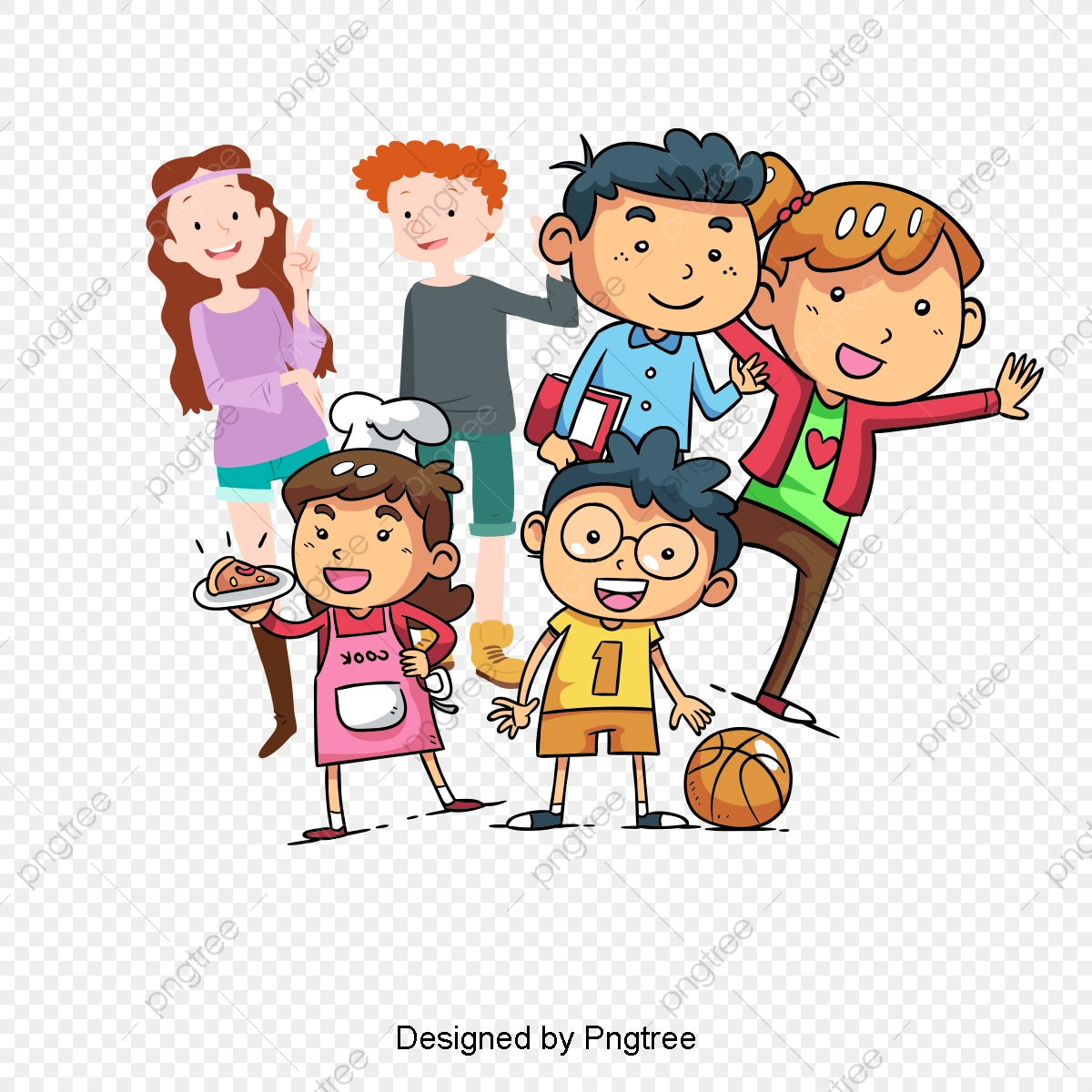 Creative Kids Holiday, Kids Clipart, Child, Creative Holiday PNG