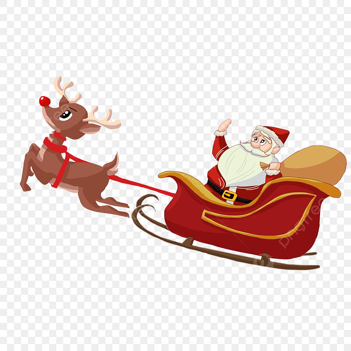 Pulling Santas Sleigh | Asdela