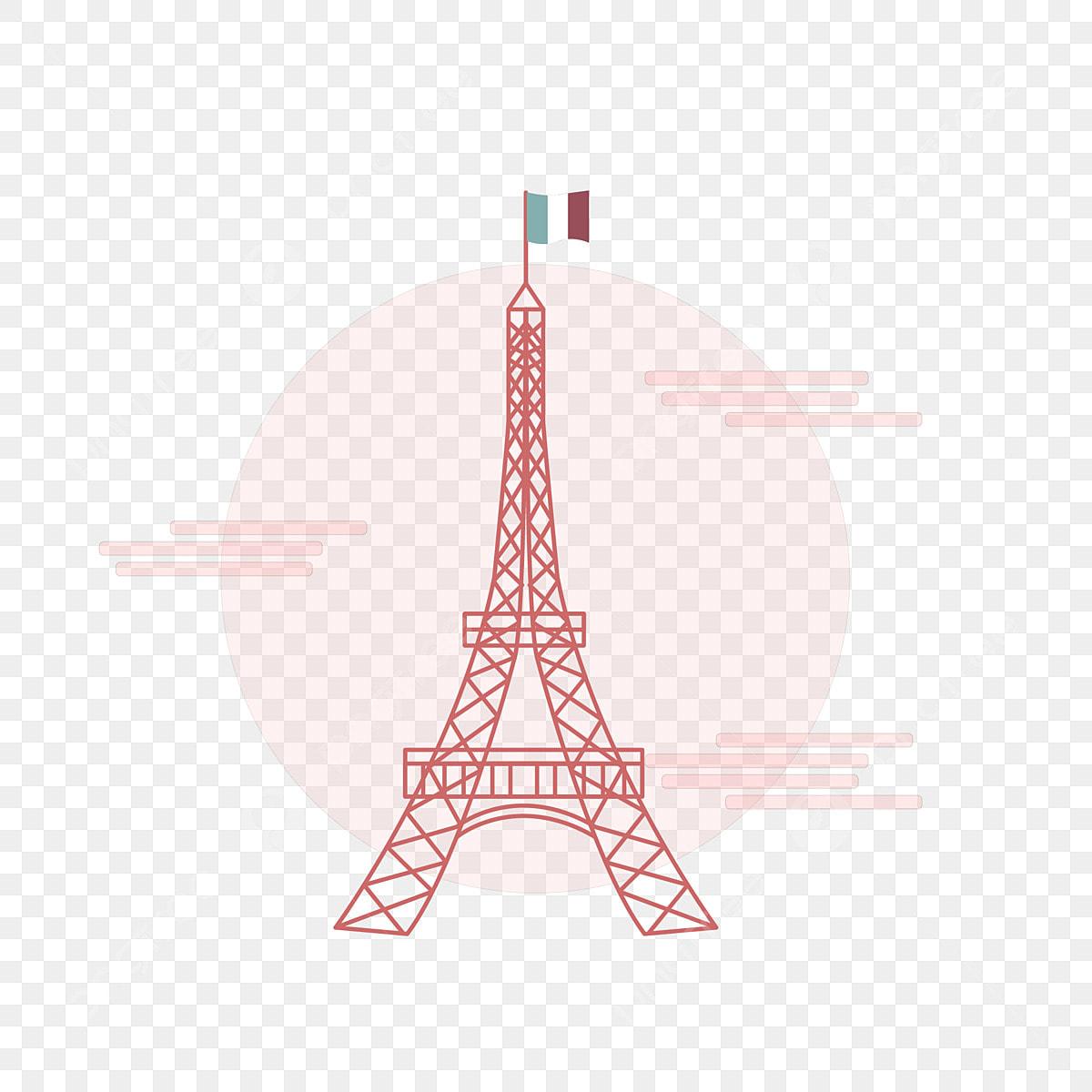Tour Eiffel isolée - Telecharger Vectoriel Gratuit, Clipart Graphique,  Vecteur Dessins et Pictogramme Gratuit
