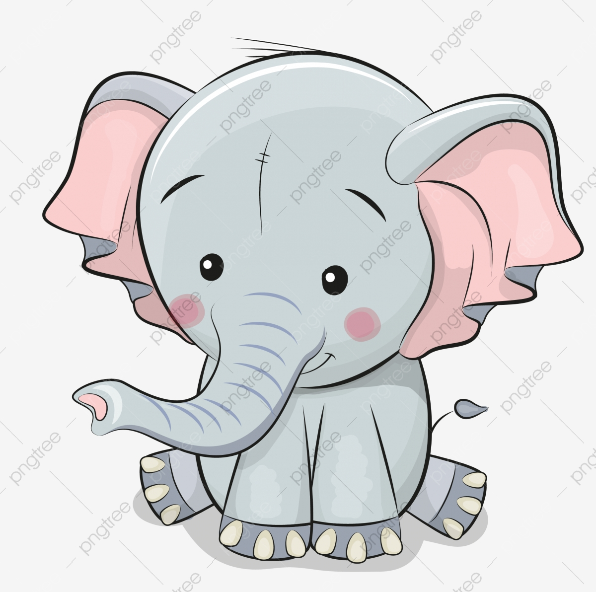 Elephant Side View Elephant Clipart Animal Giant Png