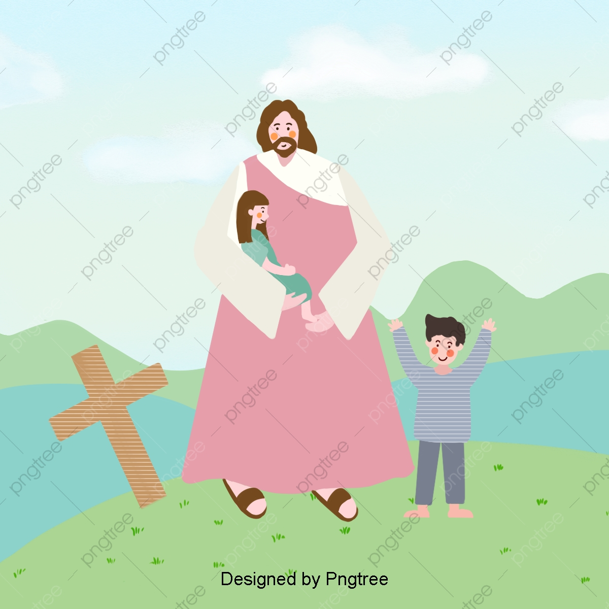 Embrace The Child Jesus Jesus Clipart Child Fr Png Transparent Clipart Image And Psd File For Free Download