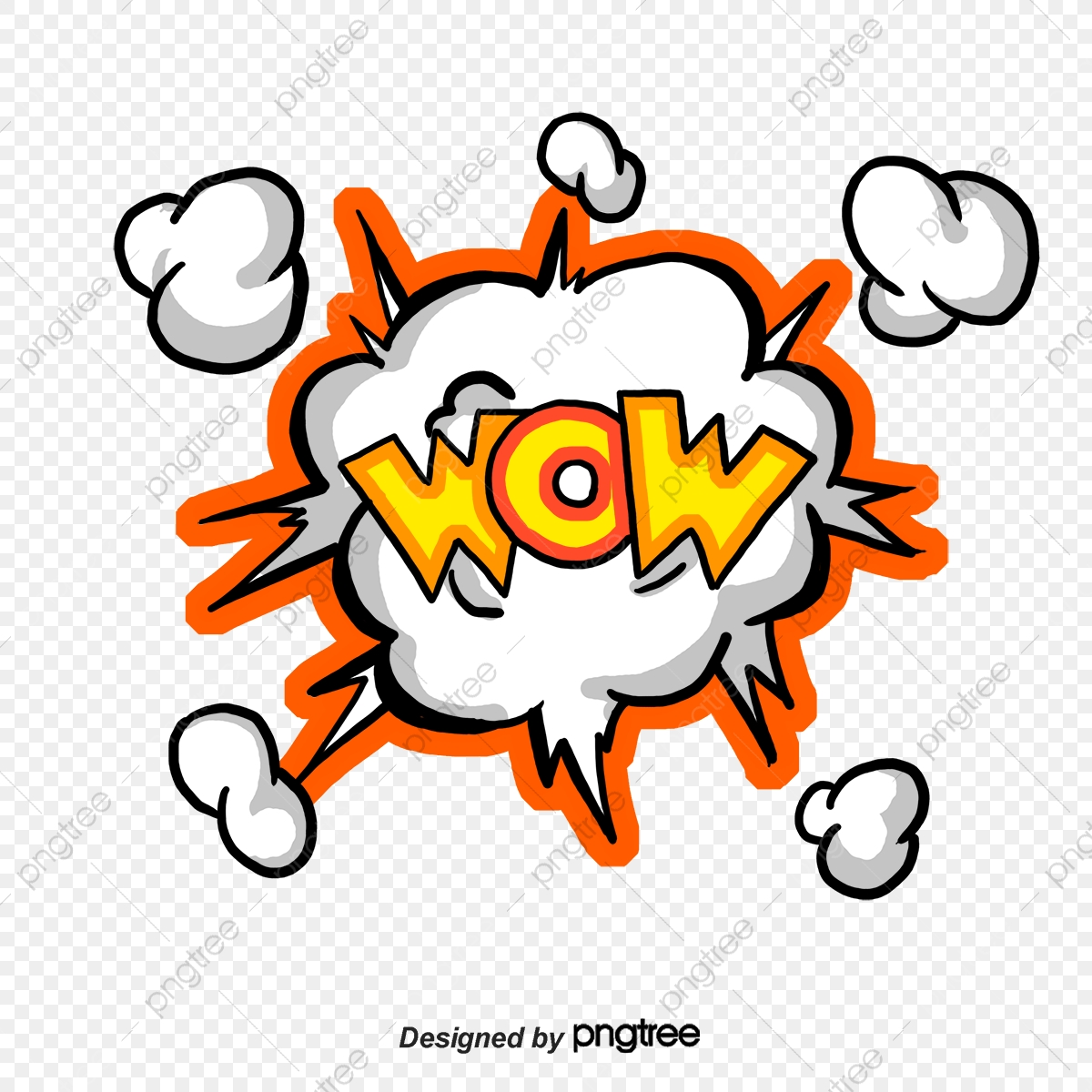Explosive Effect Explosive Stickers, Vector Png, Promotion