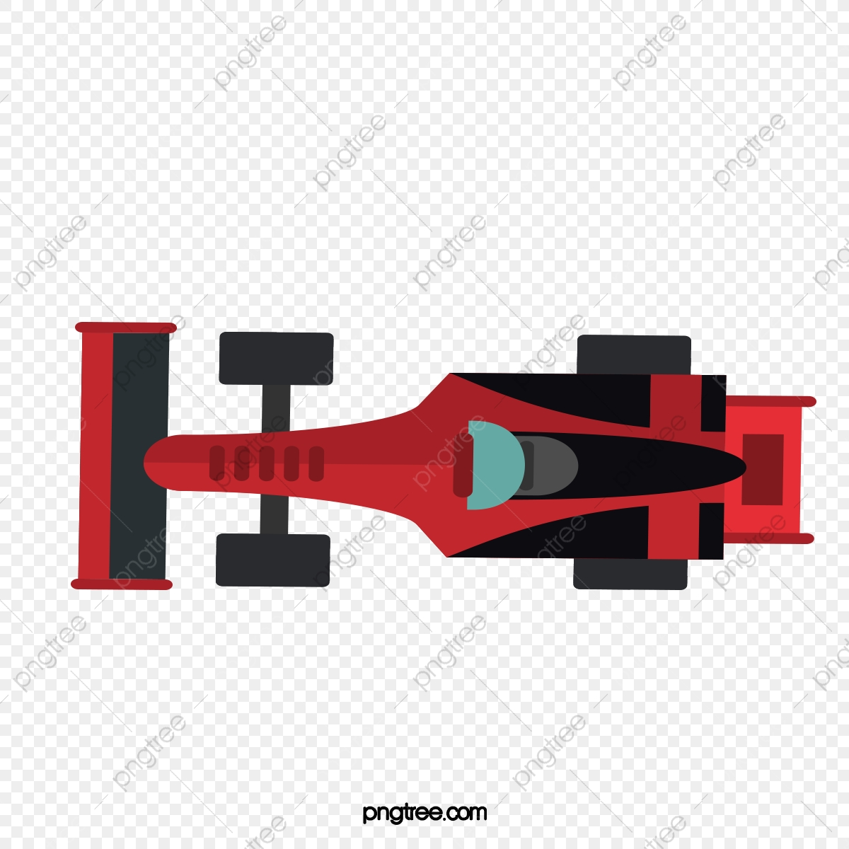 F1 Car Top View Car Clipart Car Overlooking Racing Car Png