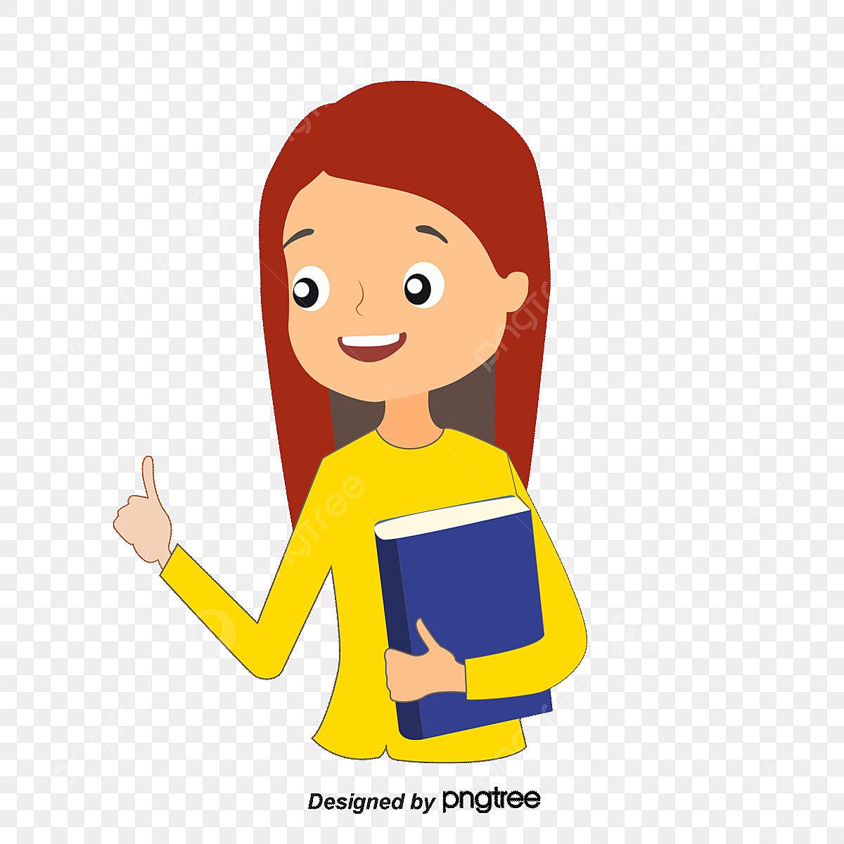 Guru Perempuan Guru Perempuan Guru Guru Kartun PNG Dan