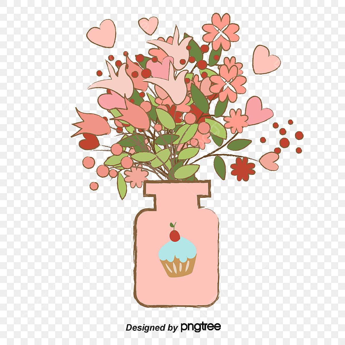 225 & Fig Flower Vase Flower Material Flower Clipart Flowers Vase PNG ...
