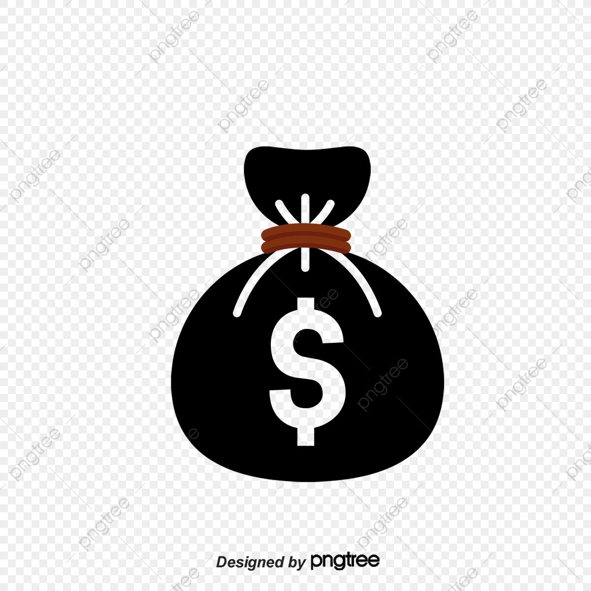 Flat Black Money Logo Black Vector Money Vector Logo Vector Png Transparent Clipart Image And Psd File For Free Download
