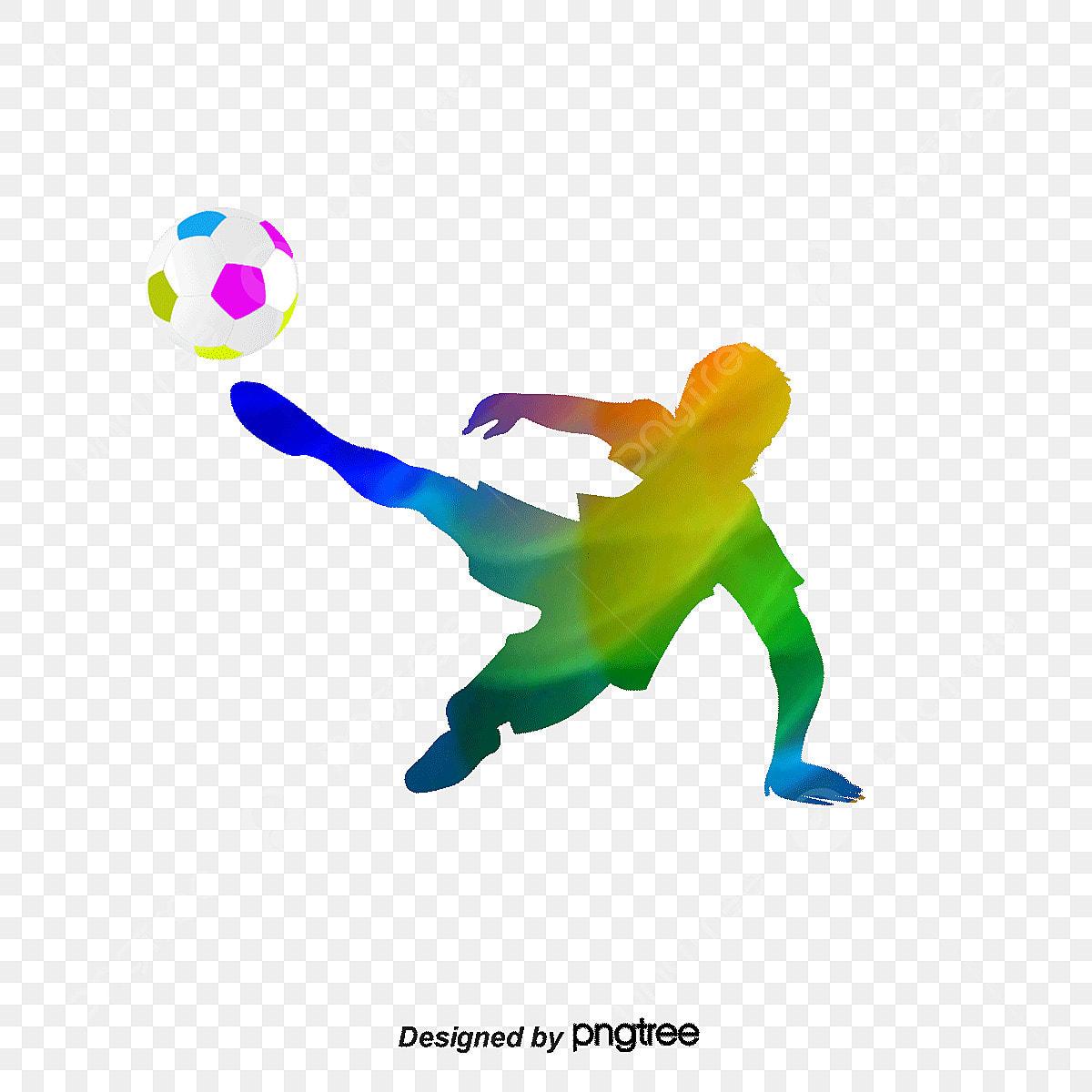 Fussball Figur Fussball Zahlen Material Fussball