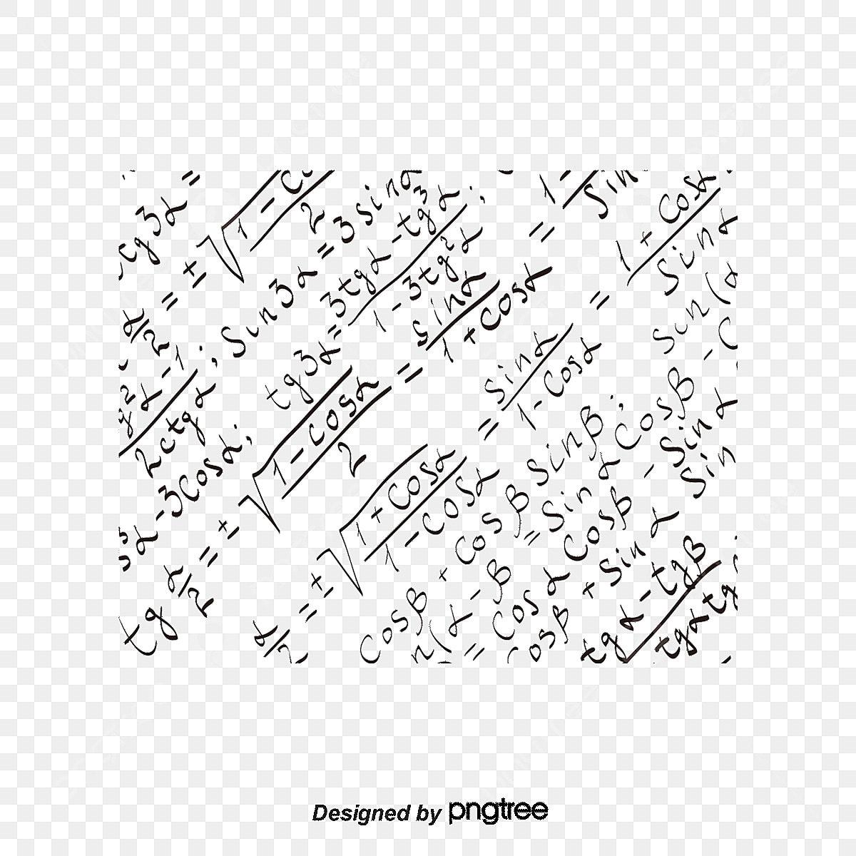 方程式の元素の遮光模様背景ベクトル図 方程式 公式 数学画像素材の