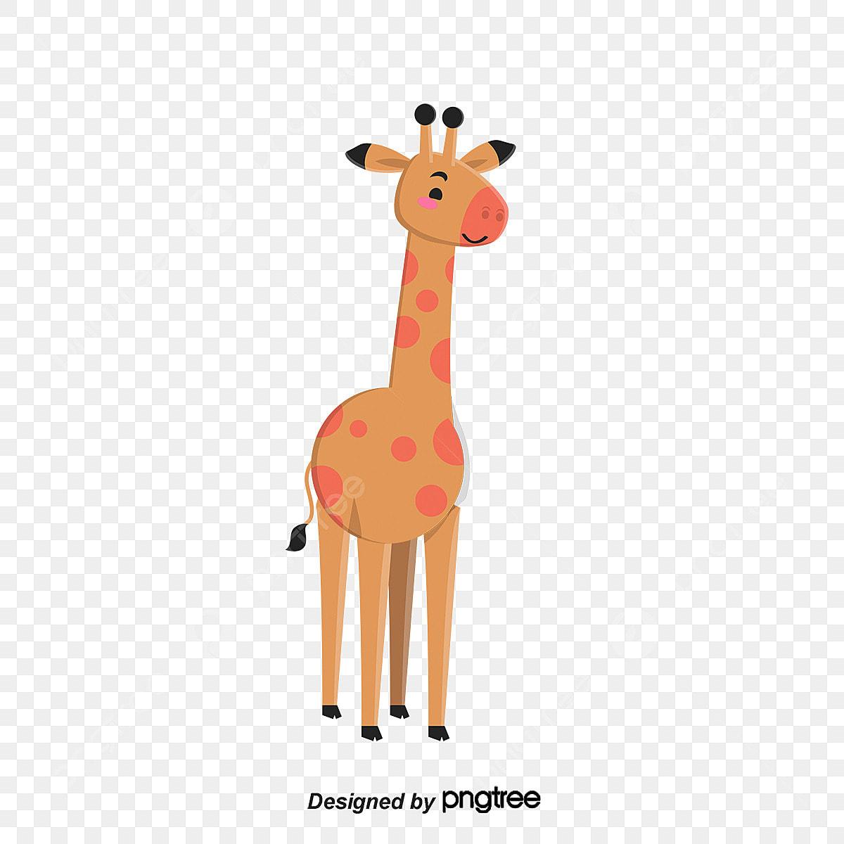 A Girafa A Girafa Girafa Dos Desenhos Animados Vetor De Girafa