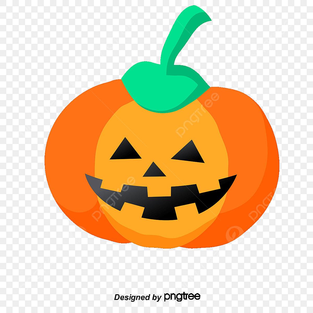 Halloween Pumpkin Vector.Halloween Pumpkin Vector Material Halloween Pumpkin Orange Png