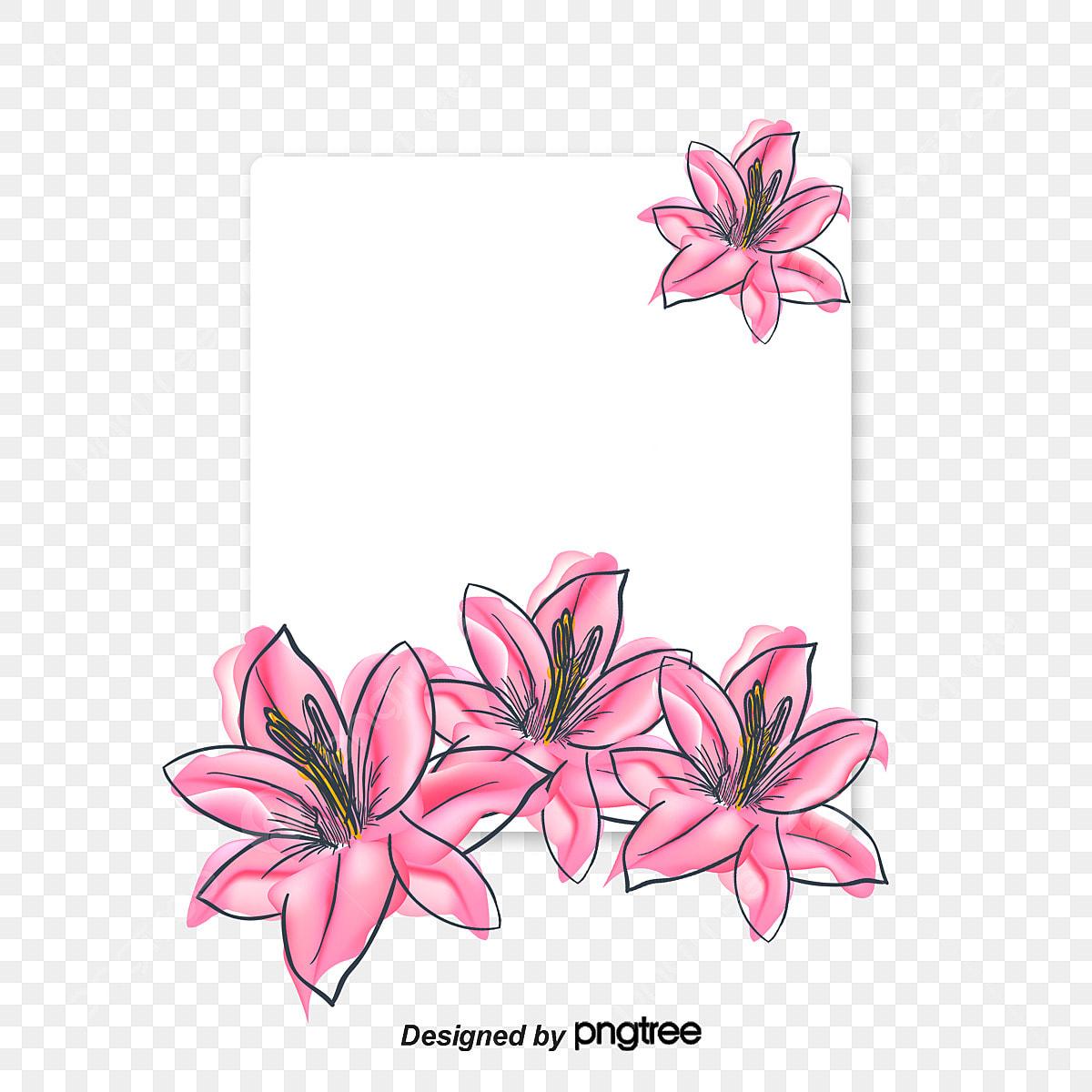Desenho De Flores Coloridas Pintados A Mao Color Flores Png E