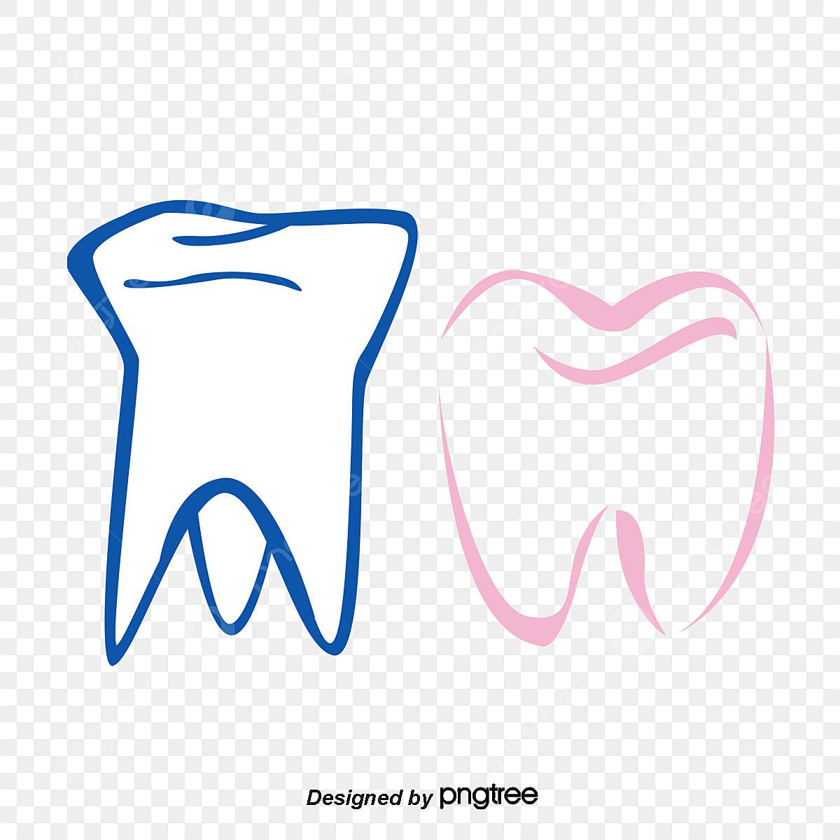 Grafico De Vetor De Desenho De Dentes Desenho De Dentes Free