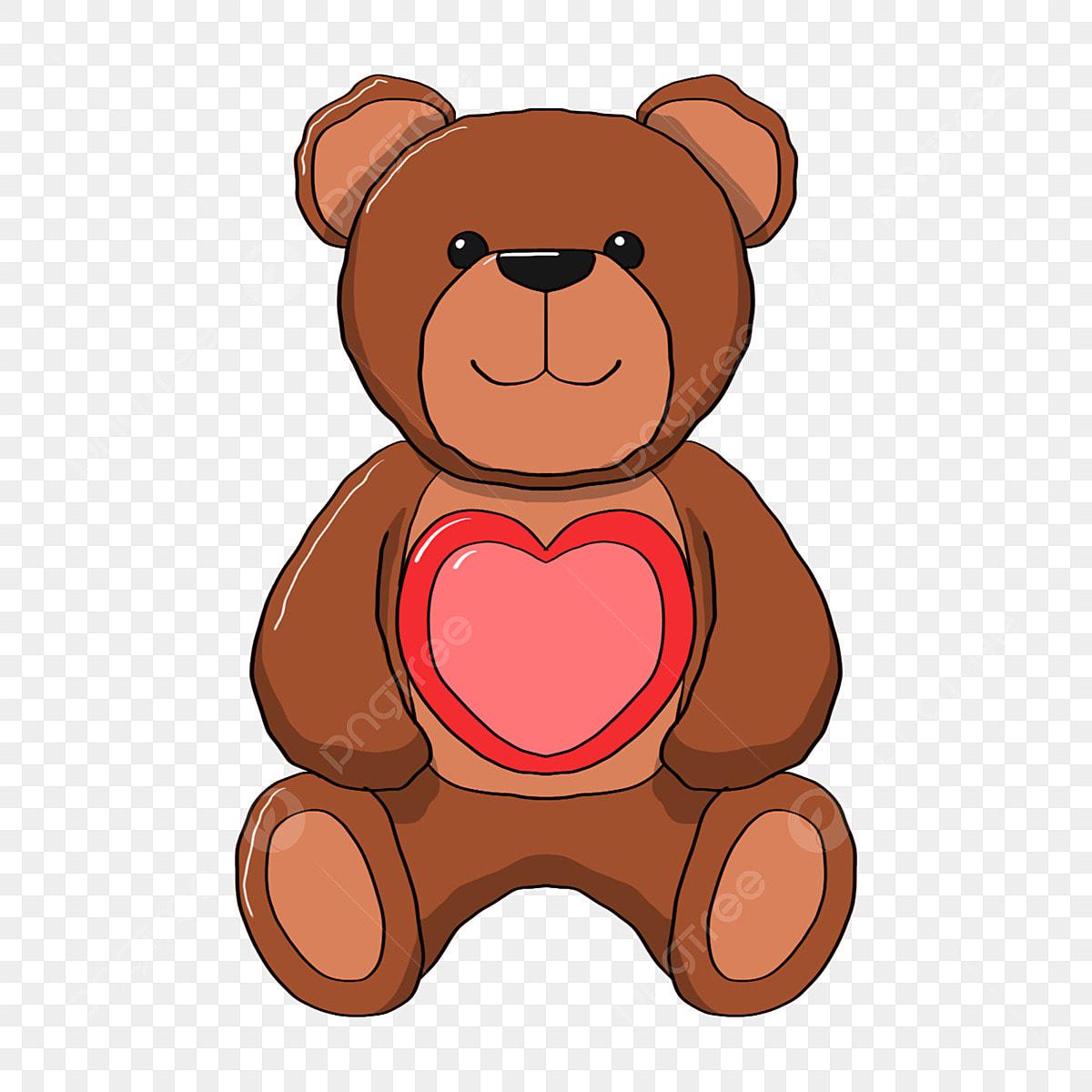 Desenho Ursinho Brinquedos Teddy Bear Brown Arquivo Png E Psd