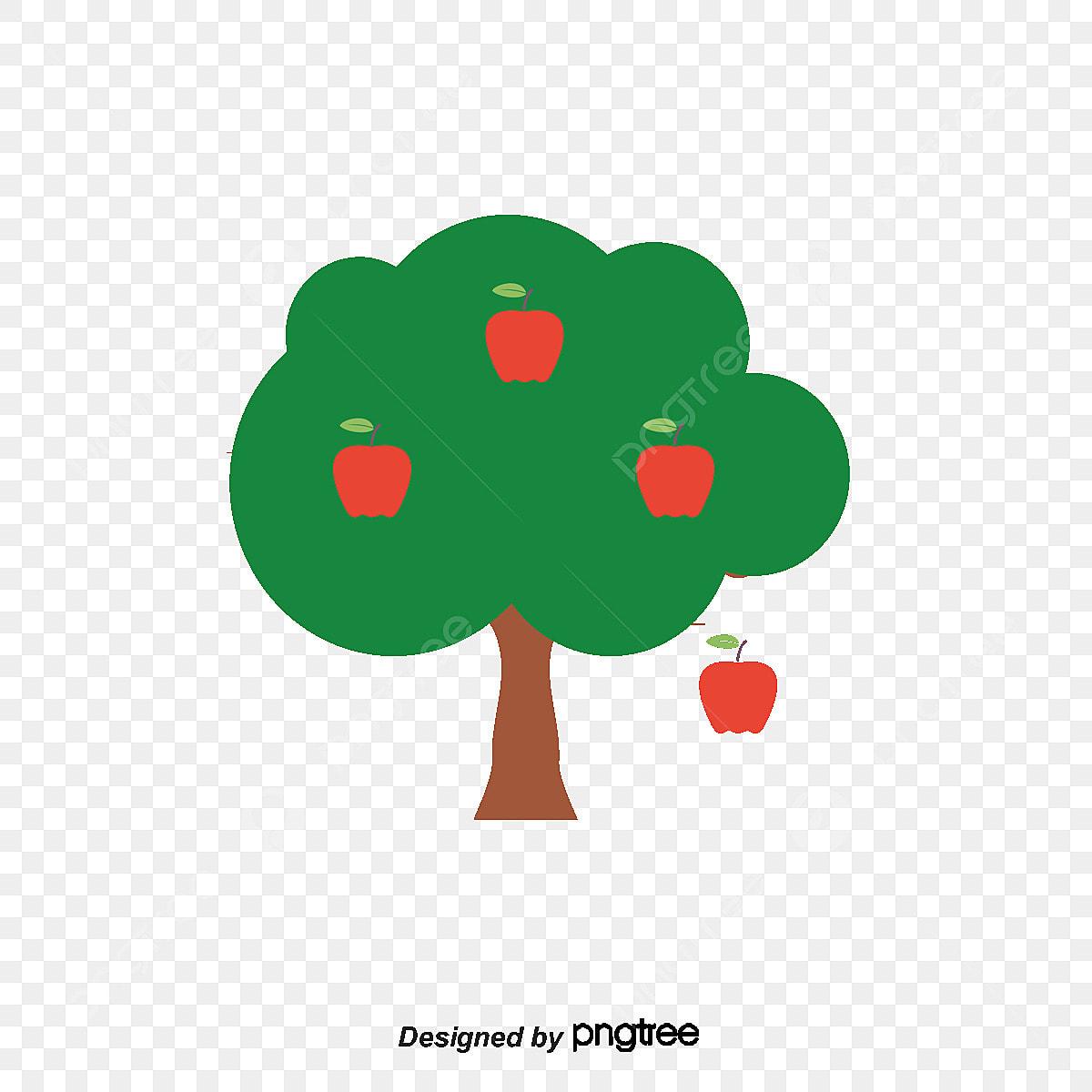 طريقة رسم تفاحة ملونة جميل 1