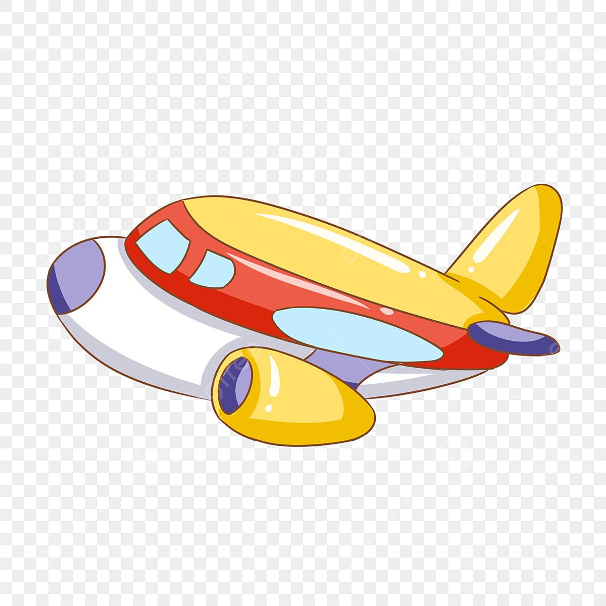 cartoon airplane silhouette png