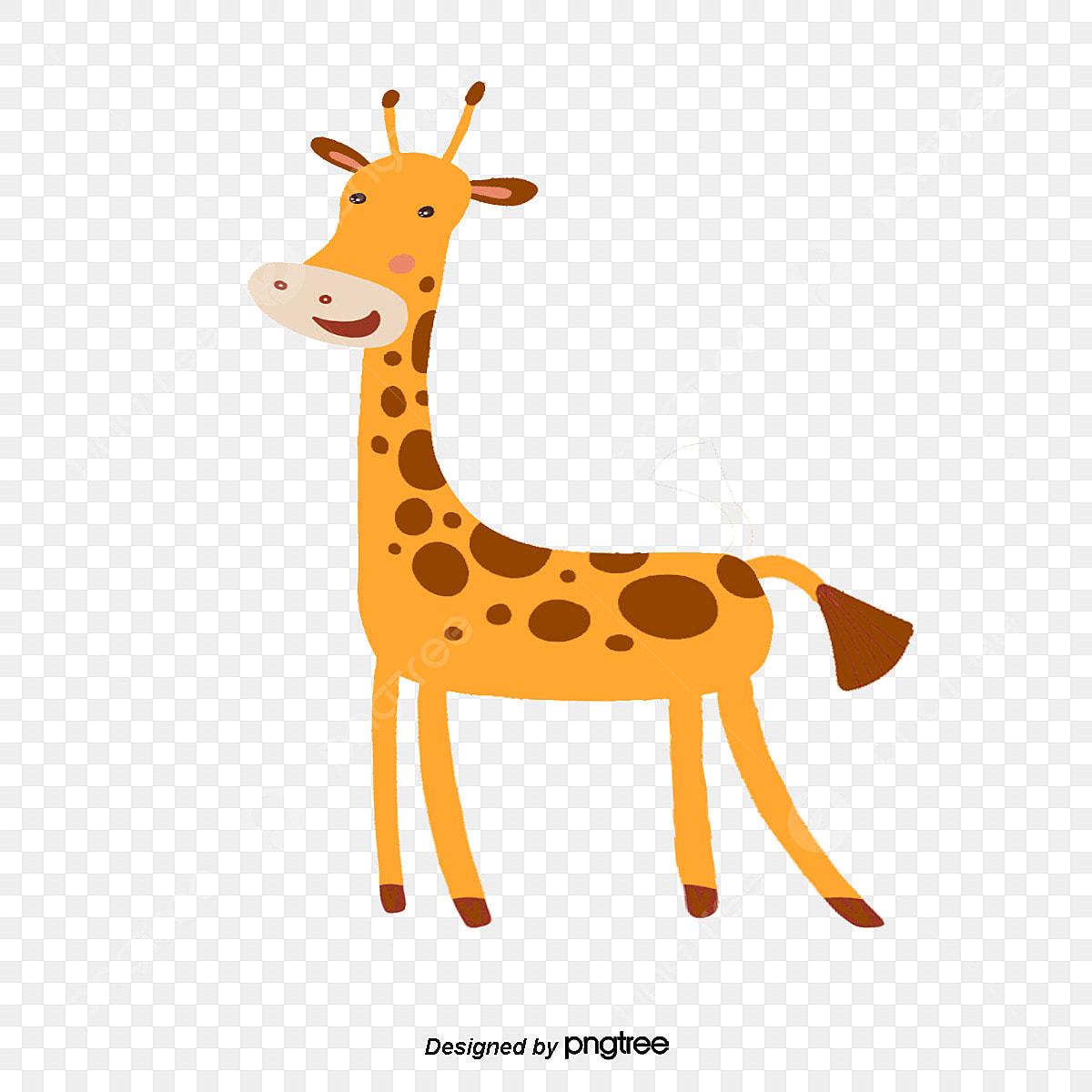 Desenho De Girafa A Girafa Animal A Floresta Png E Vetor Para