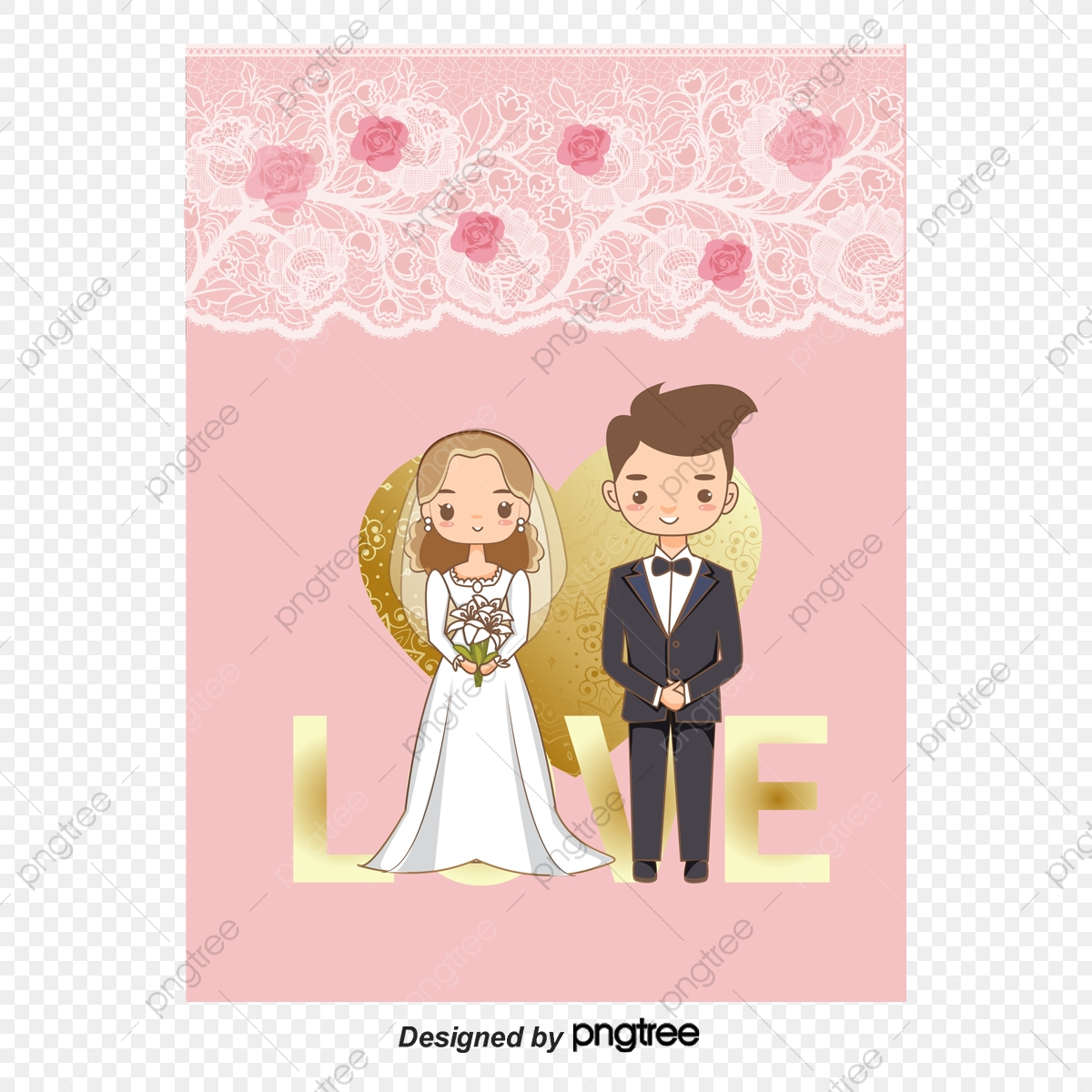 Happy Wedding Couple Vector Material Wedding Vector Couple Vector Wedding Png Transparent Clipart Image And Psd File For Free Download