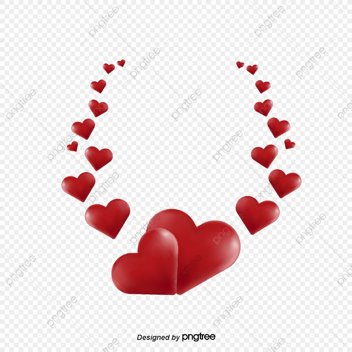 Heart, Heart Clipart, Heart Crown PNG Transparent Image and Clipart